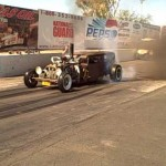 Diesel Rat Rod Burnout