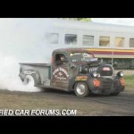 Blown Ratrod Burnout