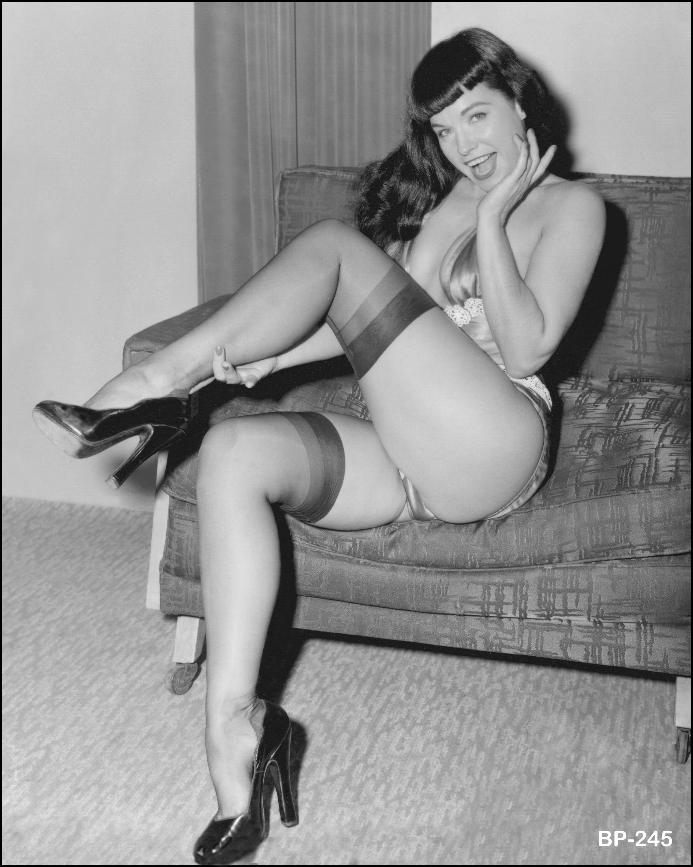 For this weeks Pin-Up of the Week we celebrate the life of Pin-Up Icon Bett