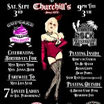 Cupcake Burlesque at Churchill's (Miami, FL)