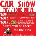 Toy/Food Drive Car Show