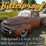 Billetproof Nor-Cal: September 15, 2012