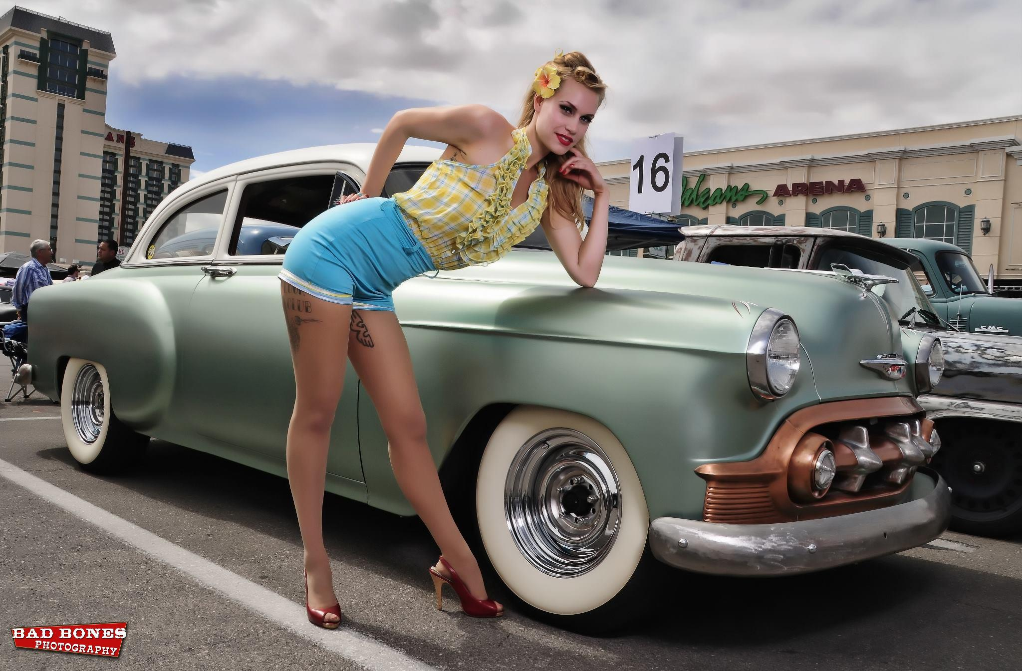 Betty Ann with Lady Luck Car Club