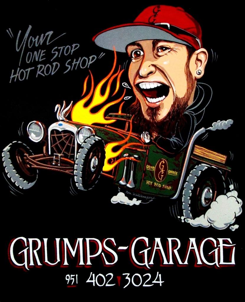 Grumps-Garage Hot Rod Parts & Music Shop